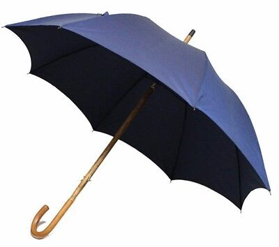 Authentic HERMES Umbrella navy Men (280358)