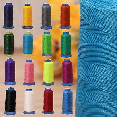 Durable Repair Leather Shoes Polyster Sewing Waxed Thread Craft 480m 0.5mm 500D