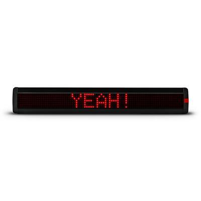 Remote Controlled Led Scrolling Ticker Advertisement Board Pc Programm Red Dots