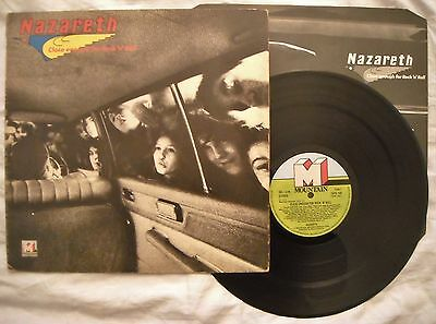 NAZARETH - CLOSE ENOUGH FOR ROCK 'N' ROLL - ANNO 1976  - 1° Stampa UK - TOPS 109