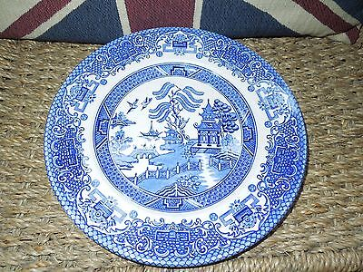 Willow Pattern Side Plate. English Ironstone Tableware Limited.