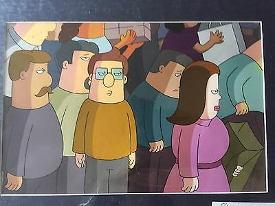 Dilbert Animation Production Cel