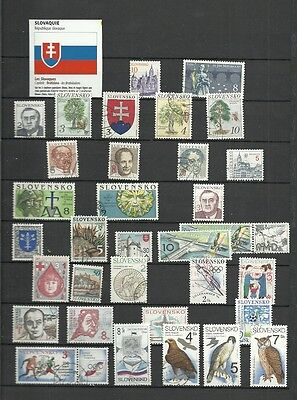 Slovaquie   =  1 Feuille  De Timbres De Collection