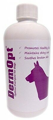 DermOpt Optima Dog Shampoo Soothes Dog Itchy Skin And Nourishes Healthy Coat