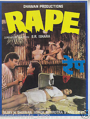 Rape Original  Movie Press Book Bollywood
