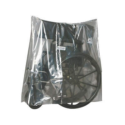 "GRAINGER APPROVED Equip Cover,19"" W x 34"" D,1 mil,PK500, 5CPF8, Clear"