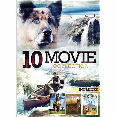 10 Movie Family Adventure Pack (DVD, 2012, 2-Disc Set) *FREE Shipping*