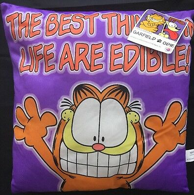 Paws Garfield Odie Pillow - New (C2)