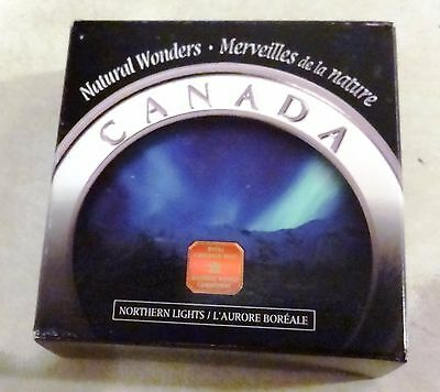 2004 Canada Natural Wonders $20 Northern Lights (Proof) 1 oz. Silver Coin