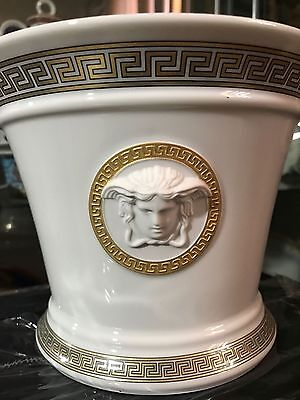Versace Medusa Gorgona Flower Pot Rosenthal New Box Holiday Sale Best Price