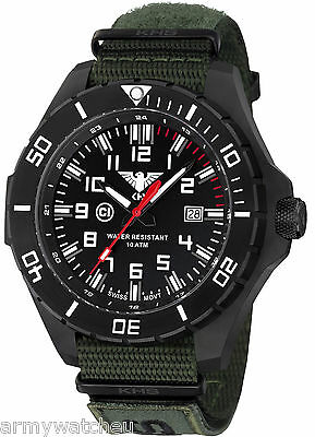 KHS Tactical Army Rangers Wristwatches C1-Light XTAC Band Oliv KHS.LANBS.NXO1