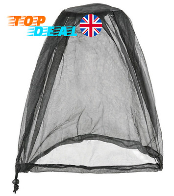 Mosquito Head Net Bug Midge Protection for Face Compact for Travel and Outdoor