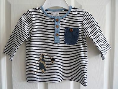 VGUC Baby Boys long sleeve striped top from NEXT 3-6 months