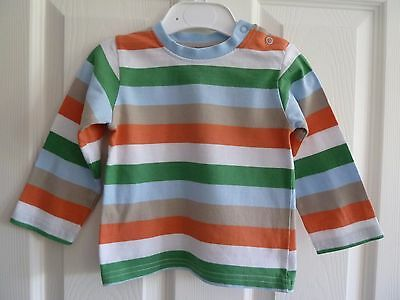VGUC Boys long sleeve striped top from TU 9-12 months