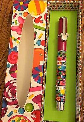 """Disney Mickey Icon """" MINNIE LOLLIPOPS CANDY """"  Executive Pen New in Box Retired"""