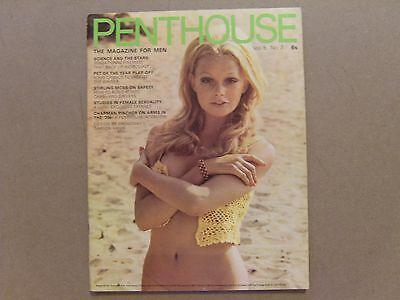 VINTAGE PENTHOUSE MAGAZINE - 1970 - Volume 5 Number 7