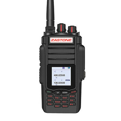 10W Walkie Talkie ZT-A19 VOX FM HF Transceiver Dual Band VHF&UHF Portable Radio