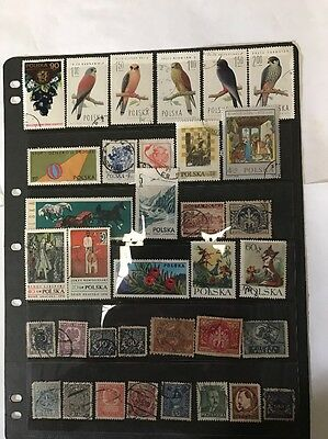 stamps  Poland - Used - Lot 461