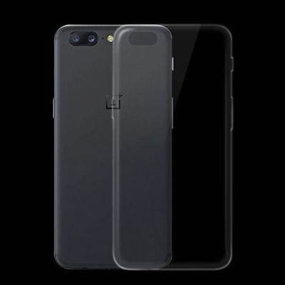 For Oneplus 5 One Plus Five Ultrathin Clear TPU Silicon Soft Back Case Cover