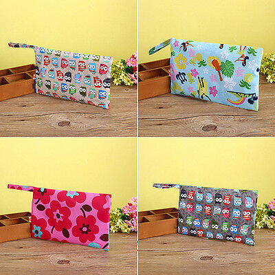 Baby Waterproof Travel Zipper Diaper Wet Dry Storage Bag Tote Nappy Pouch Useful