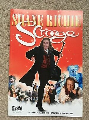 Scrooge The Musical Programme 2007 2008 UK Tour Theatre