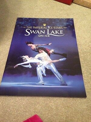 The Imperial Ice Stars in Swan Lake on Ice Theatre Programme