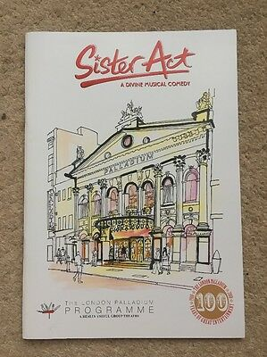 Sister Act Musical Programme The London Palladium 2010 Theatre