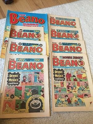The BEANO COMICS 1984 Including Summer Special. Uk Comic Retro VINTAGE