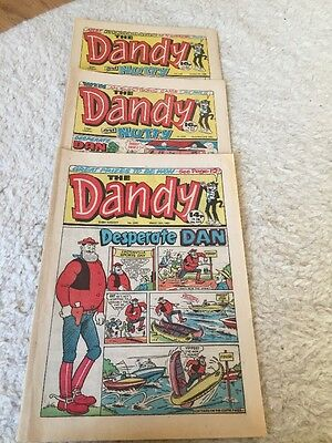The DANDY (And Nutty) COMICS 1985. Uk Comic Retro Rare Vintage