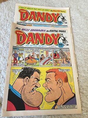 The DANDY COMICS 1988. Uk Comic Retro Rare Vintage