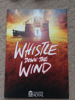 Whistle Down The Wind Musical Programme UK Tour 2010 Theatre