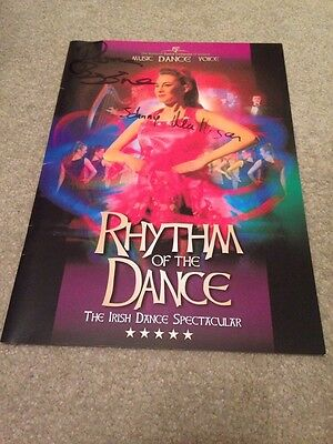 Pre Owned Signed Rhythm Of The Dance Programme