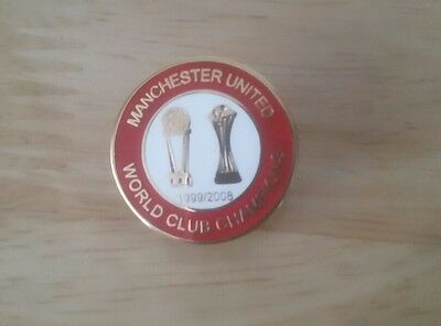 manchester united world club champions badge
