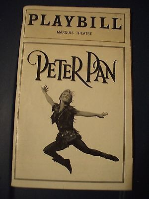 Peter Pan Broadway Playbill W/cathy Rigby Dec 1998, Vol 98-# 12.marquis Theater