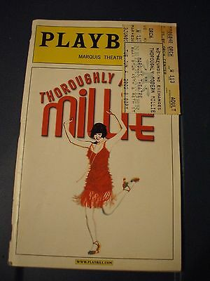 Thoroughly Modern Millie Broadway Playbill  May, Vol 118-# 5, Marquis Theater