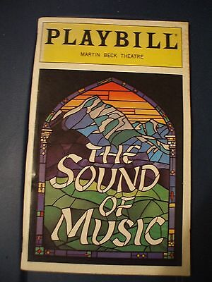 The Sound Of Music Broadway Playbill May 1998, Vol 98-# 5 Martin Beck Theater