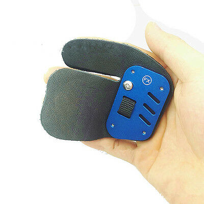 Archery Protective Finger Tab Leather Shooting Advanced Finger Guard Right Hand