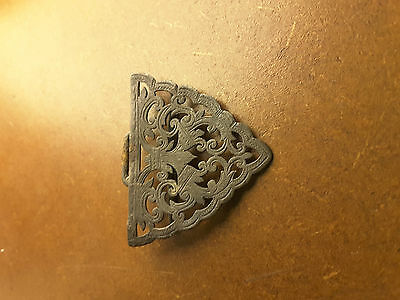 Silver Brooch / Buckle / Clasp Antique Hallmarked 1860 Birmingham