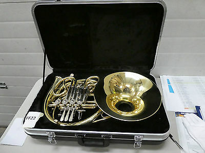Ff22) French Horn With Case