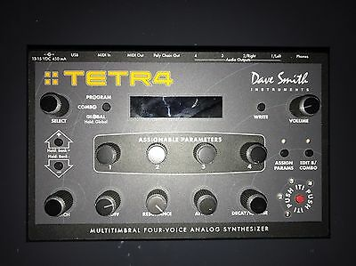Dave Smith Instruments Tetra 4 Voice Analog Synthesiser