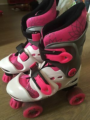 No Fear Childrens Extendable Roller Boots Size Junior 10-13