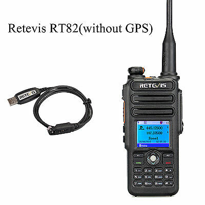 DMR-Funkgeräte Retevis RT82 Dual Band IP67 Compatible with Mototrbo TierⅠ&Ⅱ