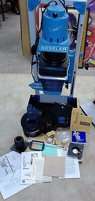Beseler 23C Series II Enlarger with extras like Negative Carrier, VG CONDITION