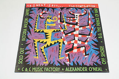 "Disco This Beat Is Hot... The Compilation, Lp Vinyl 33, 12"" Rap Hip Hop"