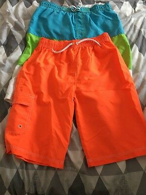 Swimming  Shorts / Trunks x2. Age 12-13.