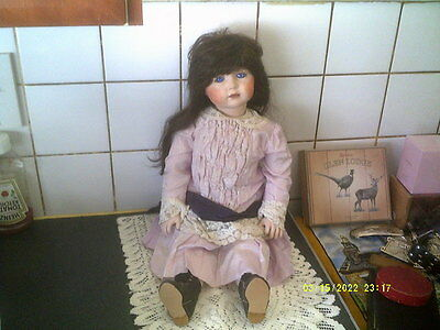 Antique Reproduction Simon And Halbig 117 Doll,24""
