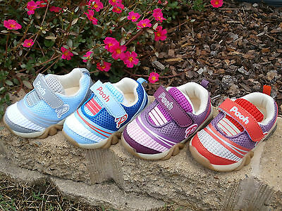 PAOH / GINOBLE - Girls Boys Toddler Kids Shoes 5,6,7,8 NEW