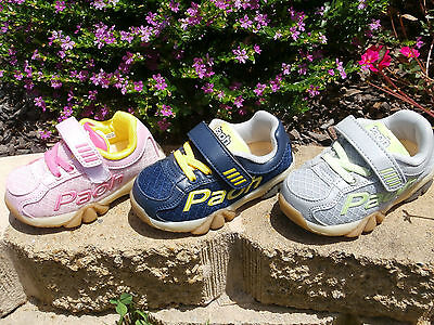 PAOH / GINOBLE - Girls Boys Toddler Kids Shoes 7,8,9,10 NEW