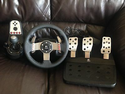 G27 logitech steering wheel,gear Shifter And Pedals