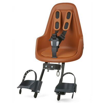 Bobike Kinderfahrradsitz Vorne ONE Mini - Chocolate Brown